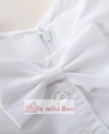 klasisks kombinezona kombinezons ar trīs daļiņu zēnu kristību uzvalku