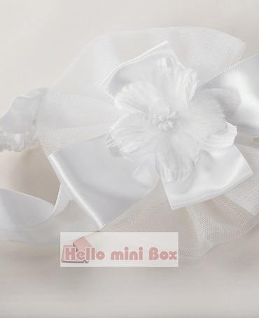 Lühike pehme kristallist kleit lillide ja vibudega rinnal